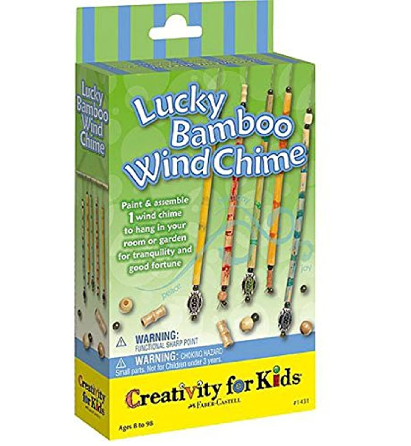 Creativity For Kids - Mini Kit Lucky Bamboo Wind Chimes