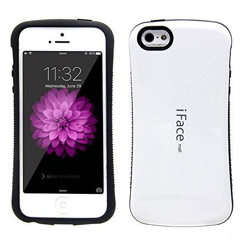 (Bidear)iPhone6Plus/6SPlus ケース iFace mallケース 全面保護 耐衝撃 カバー 白