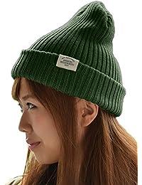 (オリエントハット)Orient Hat コットン100% リブ ニット帽 男女兼用 ニット帽子 yt689m_Re