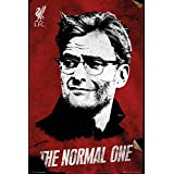 FC Liverpool–The Reds–サッカーポスター/印刷(ユルゲン・クロップ–通常の1つ) ( Size : 24