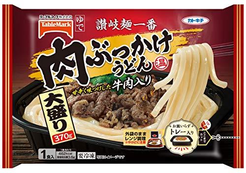 讃岐麺一番 肉ぶっかけうどん 大盛り 370g×6袋