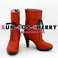 【サイズ選択可】コスプレ靴 ブーツ K-1468 カゲロウプロジェクト メカクシ団団員NO.4 マリー 小桜茉莉 女性23CM