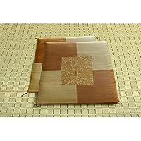 純国産/日本製 捺染返し い草座布団 『草美(くさび) 2枚組』 ブラウン 約55×55cm×2P