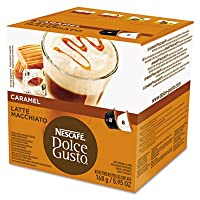 Coffee Capsules, Caramel Latte Macchiato, 1.93 oz., 16 per Box (並行輸入品)