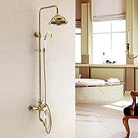 衛生シャワー、バスルーム、高級、調節可能なシャワーホルダーshower-toilet Gilded真鍮ハードウェアコミュニティDepend調節可能なシャワーヘッド雨