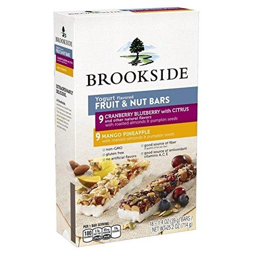 Brookside Yogurt And Fruit granola Bar 39gx18(702g) ブルックサイドヨーグルト&フルーツグラノーラバーバラエティーパック [並行輸入品]