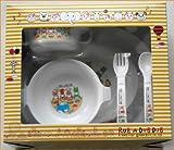 ラブアダブダブの可愛い食器セット  離乳食セット プレート お食事 マグカップ=出産祝いやギフトにもどうぞ (¥ 3,240)