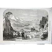 場面 Theatre 1863 のロンドン勝利続きの王女