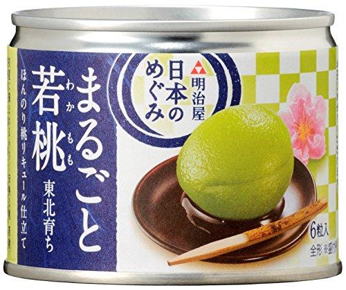MY 日本のめぐみ 東北育ち まるごと若桃 ほんのり桃リキュール仕立て 200g