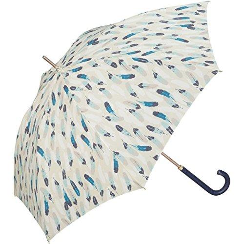 w.p.c(WPC) 【長傘】【軽くて丈夫で持ちやすい】フェザー (雨傘/レディース)【ベージュ/58】