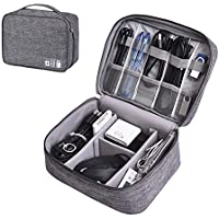 ZEON Travel Digital Packing Organiser – Waterproof Gadget Bag and Cable Storage Padded Case