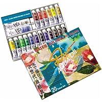 ホルベイン 油絵具 アクアオイルカラー DUO 20色セット DU921 20ml(6号)
