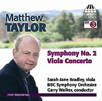 Taylor: Viola Concerto / Symphony No. 2 by Bradley (2013-07-30)