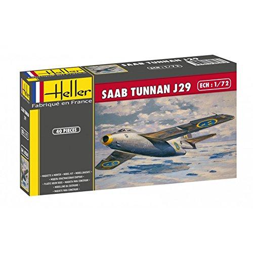 エレール 1/72 スウェーデン軍 戦闘機サーブ 29 トゥンナン プラモデル FF0260