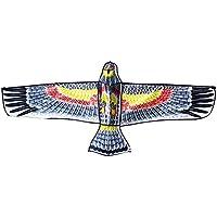Skedee 3d Bald Eagle Kite 59インチWing FlyingおもちゃTraditional Chineseアート& Handicraft