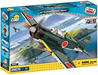 Cobi Small Army #5537 ミリタリーブロック WWII 戦闘機 三菱 A6M3 零式艦上戦闘機 Mitsubishi A6M3 Zero【COBI日本正規総代理店】