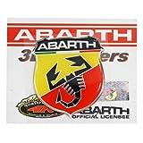 フィアットFIAT アバルトABARTH 純正 3D エンブレムステッカー(45mm) 59230313 59230313