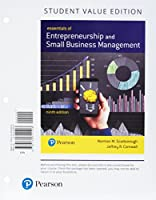 Entrepreneurship and Small Business Management, Student Value Edition Plus MyLab Entrepreneurship with Pearson eText -- Access Card Package (9th Edition)