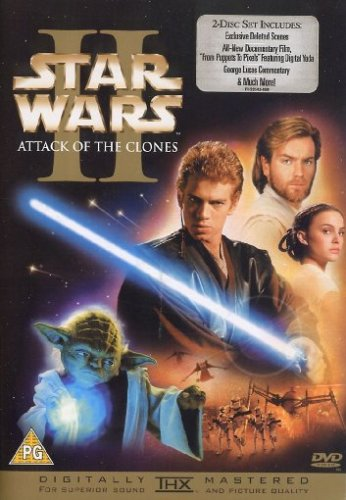 Star Wars II: Attack of the Clones [DVD] [Import]