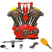 ヘインズ キッズ エンジン組み立てキット Haynes First Tech HJ01 Build Your Own Engine Construction Set