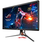 ASUS ゲーミングモニター 27インチ ROG SWIFT PG27UQ(4K/量子ドットIPS/HDR10/4ms/144Hz/G-SYNC/直下型LED/Aura Sync/HDMI/DP)
