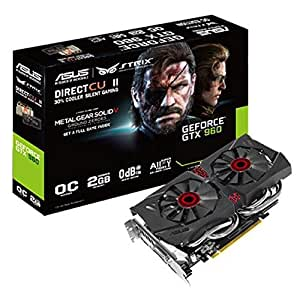 ASUSTeK NVIDIA GeForce GTX960搭載 「METAL GEAR SOLID V: GROUND ZEROES」ダウンロードクーポン付属 STRIX-GTX960-DC2OC-2GD5