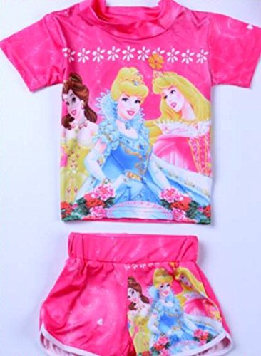 プリンセス シンデレラ ベル ラッシュ ガード 水着 100 Disney(ディズニー) 海外製