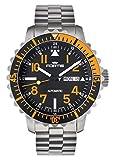 [フォルティス]FORTIS 腕時計 マリンマスター デイデイト オレンジ 670.19.49M メンズ 【正規輸入品】