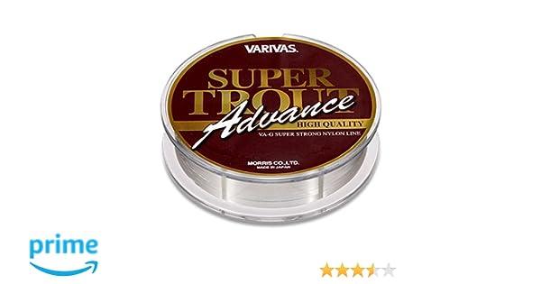 VARIVAS SUPER TROUT Advance 100m Nylon Line Color:Misty Brown.