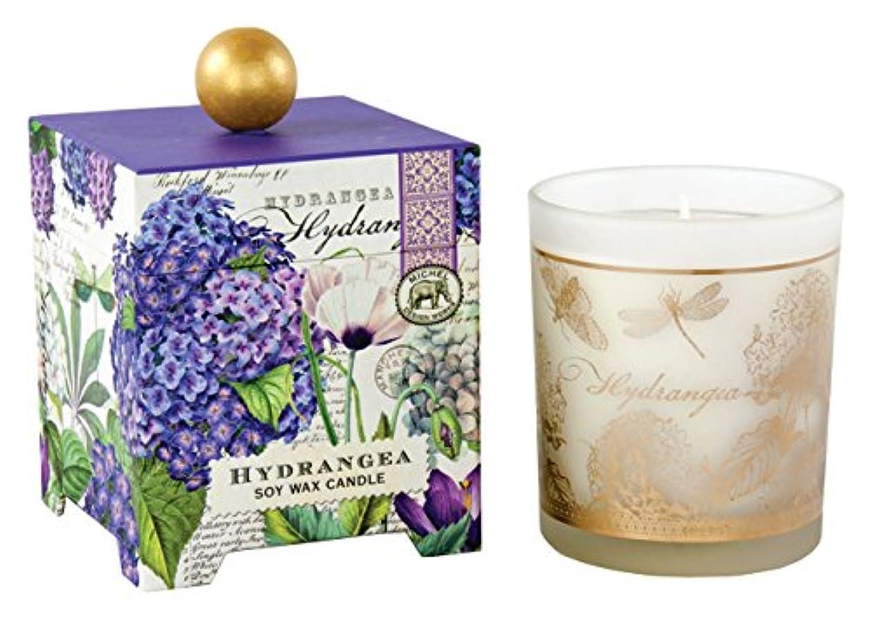 適性蚊フィヨルドMichel Design Works アロマキャンドル Lサイズ (ハイドランジェ) 香り:ハイドランジェ MDCAN209