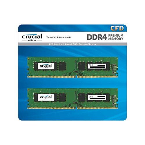 CFD W4U2666CM-8G 8GBx2 DDR4-2666  PC4-21300  デスクトップ用メモリ DIMM Crucial スタンダードモデル