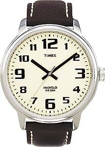 [タイメックス]TIMEX 腕時計 ビッグイージーリーダー クリーム T28201 メンズ [正規輸入品]