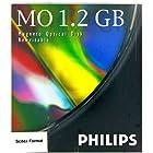 PHILIPS 61P 5インチMOディスク 1枚入り 1.2GB Scitex Format