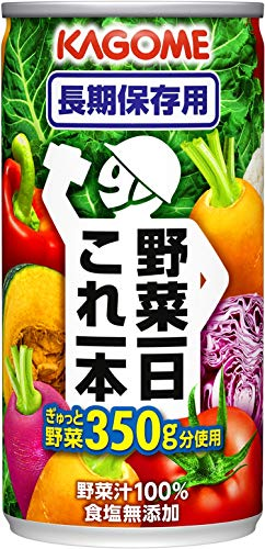 野菜一日これ一本 長期保存用 190g×30本 缶