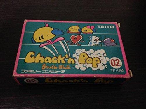 【ファミコン】 ChacK'n pop(ちゃっくんぽっぷ) 【カセット】