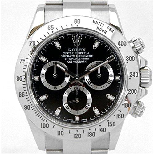 [ロレックス]ROLEX 腕時計 コスモグラフ デイトナ ブラ...