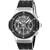 [ウブロ]HUBLOT 腕時計 ビックバン カーボンブラック文字盤 自動巻 クロノグラフ 301.SB.131.RX メンズ 【並行輸入品】