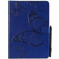 iPad Pro 9.7 2017 Wallet Case, iPad Pro 9.7 2017 Leather Case, MrStar Premium PU Leather シェル Folio Stand Bumper Back Cover for iPad Pro 9.7 2017 - Blue