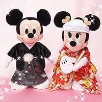 ブライダル ぬいぐるみS ミッキーマウス&ミニーマウス 和装