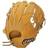 asics(アシックス) 野球 ジュニア軟式用グローブ(内野手用) ゴールドステージ BGJ6FH オレンジ LH