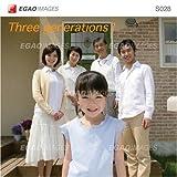 EGAOIMAGES S028 ファミリー「三世代家族1」