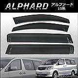 AP サイドバイザー APSVC216 入数:1セット(4枚) トヨタ アルファード 10系 2002年05月~2008年05月