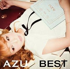 AZU「またね。」の歌詞を収録したCDジャケット画像