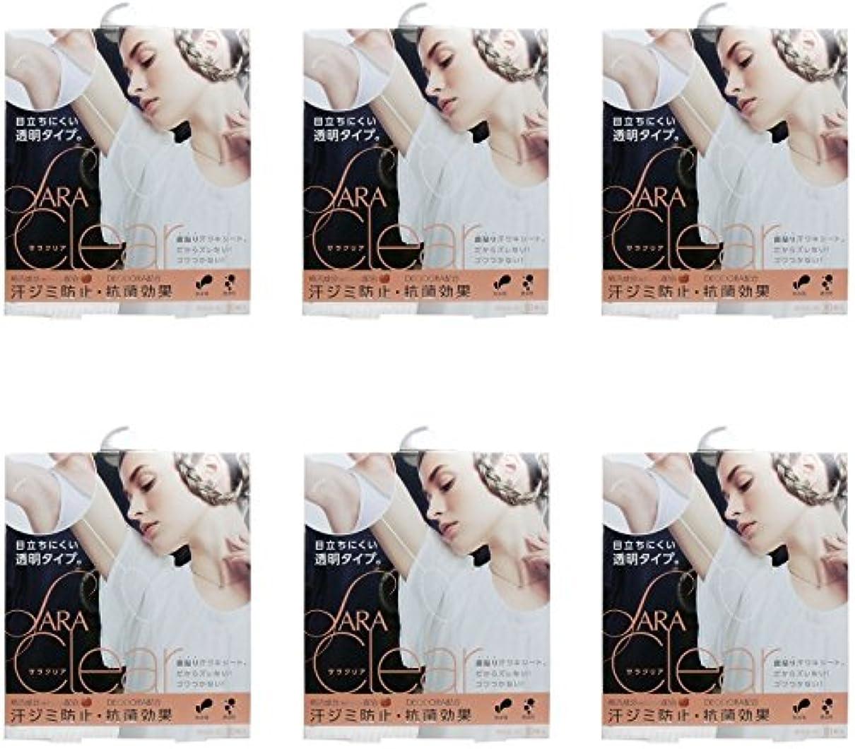 ビルダー教える検索エンジンマーケティング【まとめ買い】サラクリア(汗ワキシート) 10枚入【×6個】