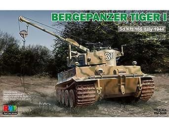 ライフィールドモデル 1/35 ベルゲパンツァー タイガーI 戦車回収車 プラモデル RFM5008
