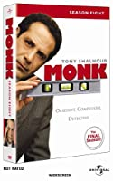Monk: Season Eight [DVD] [Import]