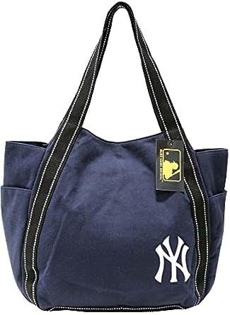 (ニューヨークヤンキース) NEW YORK YANKEES トートバッグ メンズ レディース ユニセックス スウェット NY 大きめ 5color Free ネイビー
