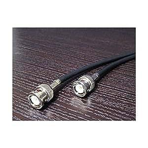 サイバーシャフト製 高精度クロック接続推奨 50Ω BNCケーブル 1.0m