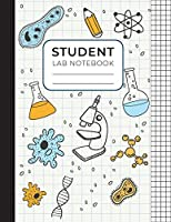 Student Lab Notebook: Scientific and Research Laboratory Notebook For School - Graph Composition Notebook