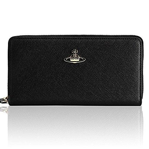 Vivienne Westwood ヴィヴィアンウエストウッド財布 長財布 [並行輸入品] (55306, BLACK)